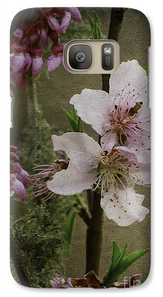 Galaxy Case featuring the photograph Spring Is Here by Lori Mellen-Pagliaro