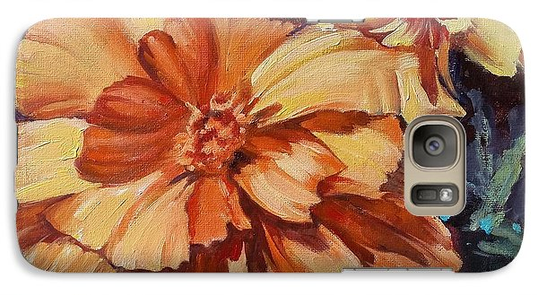Galaxy Case featuring the painting Spring Is Here by Rose Wang