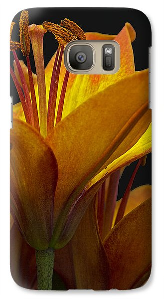 Galaxy Case featuring the photograph Spring Lily by Robert Pilkington