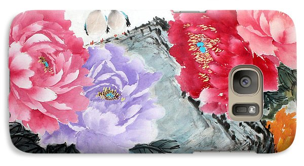 Galaxy Case featuring the photograph Spring Melody by Yufeng Wang