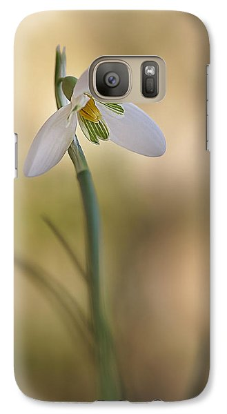 Galaxy Case featuring the photograph Spring Messenger by Annie Snel