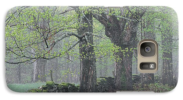Galaxy Case featuring the photograph Spring Mist by Alan L Graham