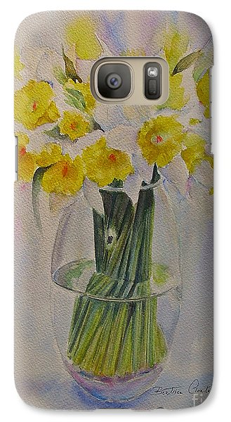 Galaxy Case featuring the painting Spring Of Course by Beatrice Cloake
