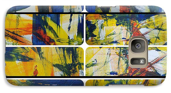 Galaxy Case featuring the painting Spring Part One by Sir Josef - Social Critic - ART