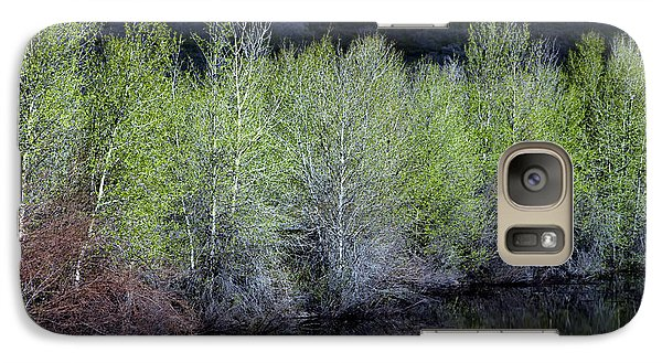 Galaxy Case featuring the photograph Spring Pond by The Forests Edge Photography - Diane Sandoval