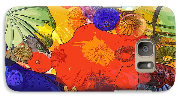 Galaxy Case featuring the digital art Spring Poppies by Kirt Tisdale