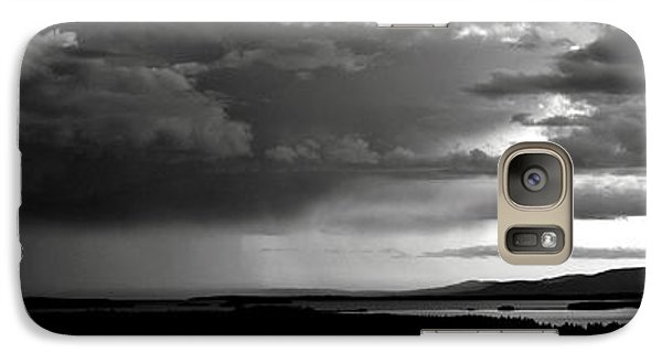 Galaxy Case featuring the photograph Spring Rain by Greg DeBeck