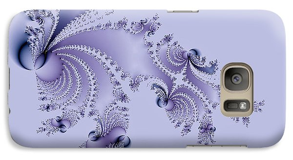 Galaxy Case featuring the digital art Spring Release by Ann Peck