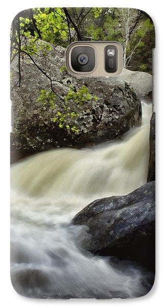 Galaxy Case featuring the photograph Spring Runoff by Ellen Heaverlo