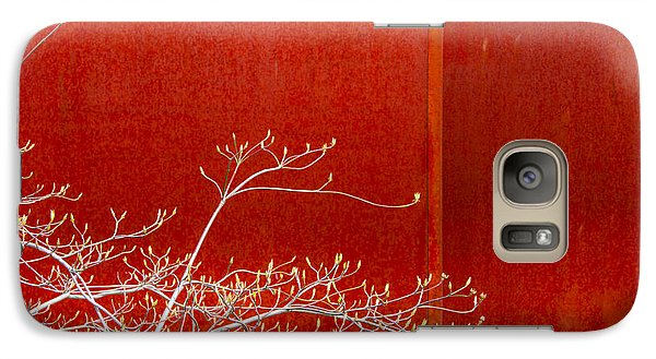 Galaxy Case featuring the photograph Spring Rust by Takeshi Okada