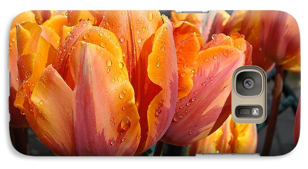 Galaxy Case featuring the photograph Spring Shower by Cheryl Hoyle