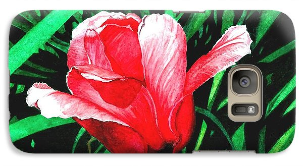 Galaxy Case featuring the painting Spring Solo by Barbara Jewell