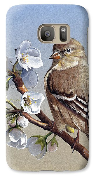Galaxy Case featuring the painting Spring Splendor by Mike Brown