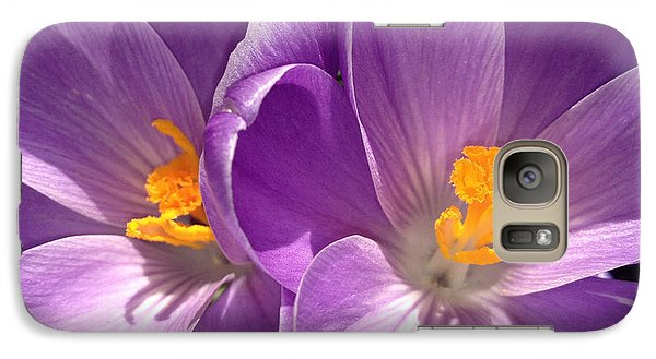 Galaxy Case featuring the photograph Spring Sprang by Gwyn Newcombe