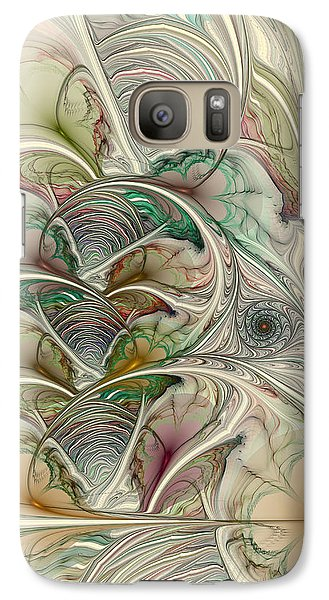 Galaxy Case featuring the digital art Spring Thaw by Kim Redd