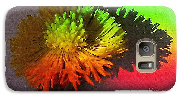 Galaxy Case featuring the photograph Spring Through A Rainbow by Martin Howard