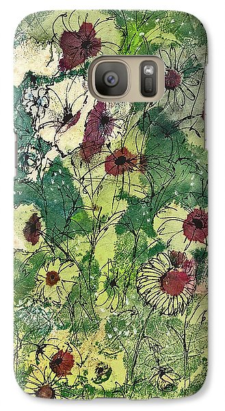 Galaxy Case featuring the painting Spring Tracery by Joan Hartenstein