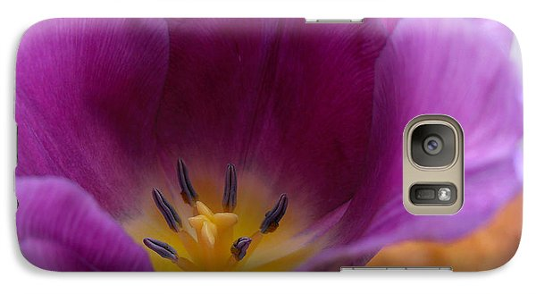 Galaxy Case featuring the photograph Spring Tulip by Heidi Manly