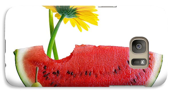 Spring Watermelon Galaxy S7 Case by Carlos Caetano