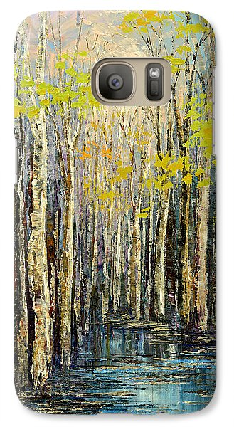 Galaxy Case featuring the painting Spring Wind by Tatiana Iliina