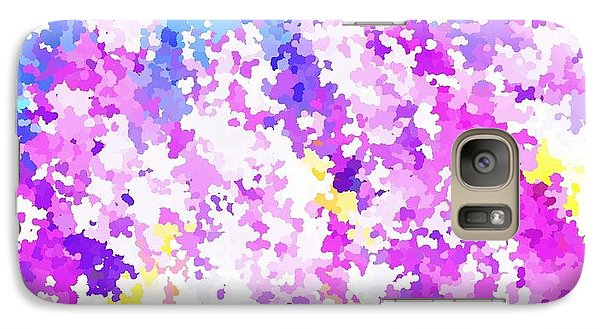 Galaxy Case featuring the digital art Spring by Yshua The Painter