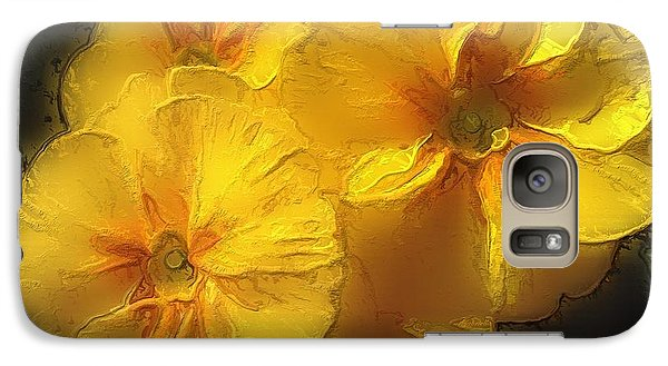 Galaxy Case featuring the photograph Springflower 5 by Gabriella Weninger - David