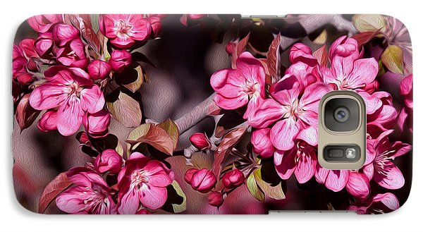 Galaxy Case featuring the photograph Spring's Arrival by Roselynne Broussard