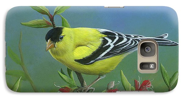 Galaxy Case featuring the painting Spring's Return by Mike Brown