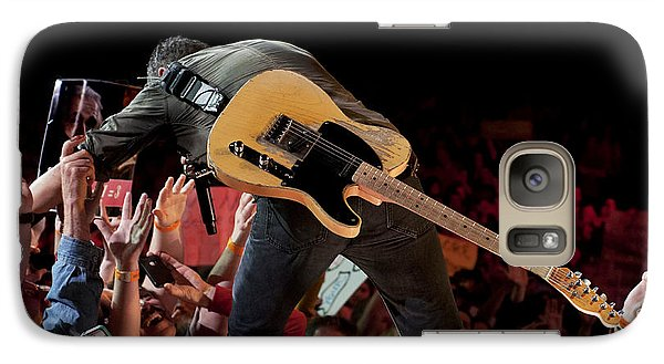 Galaxy Case featuring the photograph Springsteen In Charlotte by Jeff Ross