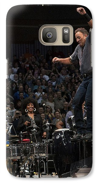 Galaxy Case featuring the photograph Springsteen In Motion by Jeff Ross