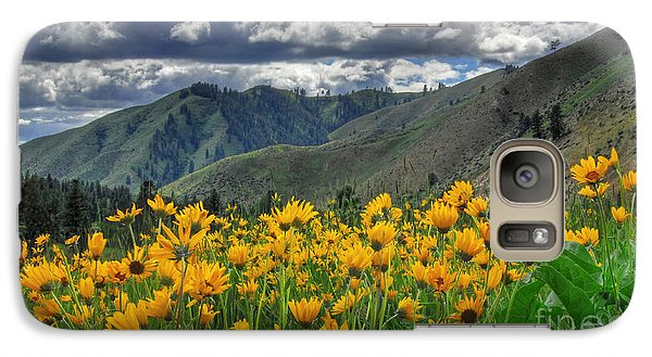 Galaxy Case featuring the photograph Springtime At Gallagher by Sam Rosen