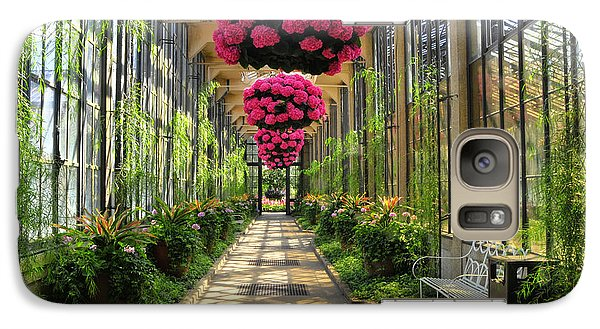 Galaxy Case featuring the photograph Springtime At Longwood Gardens 2 by Dan Myers
