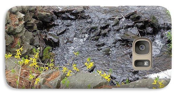 Galaxy Case featuring the photograph Springtime Creek by Christina Verdgeline