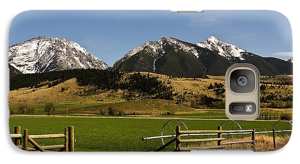 Galaxy Case featuring the photograph Springtime In Montana by Sue Smith