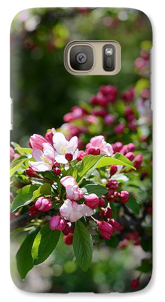 Galaxy Case featuring the photograph Springtime by Linda Mishler