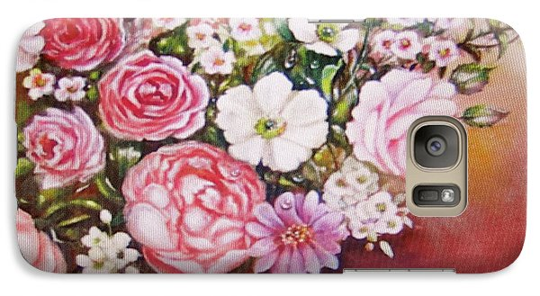 Galaxy Case featuring the painting Springtime by Patricia Schneider Mitchell