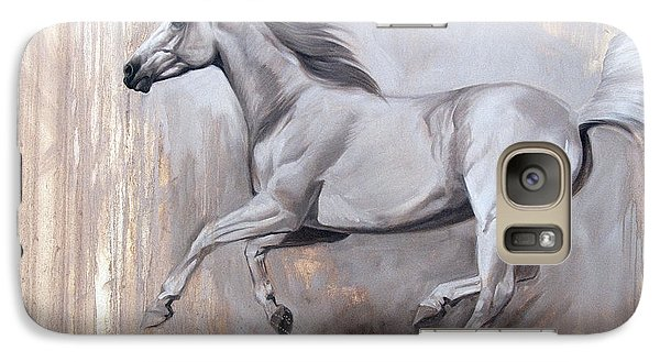 Galaxy Case featuring the painting Sprint by JQ Licensing