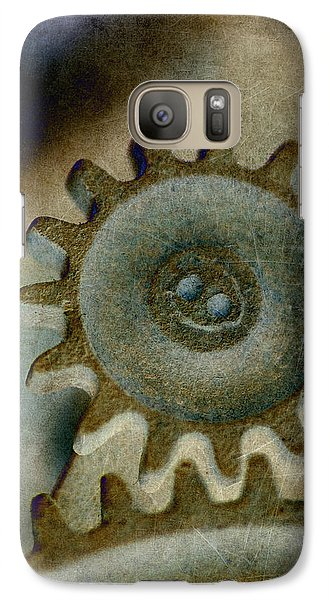 Galaxy Case featuring the photograph Sprocket 2 by WB Johnston