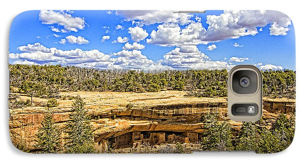 Galaxy Case featuring the photograph Spruce Tree House by Jason Abando