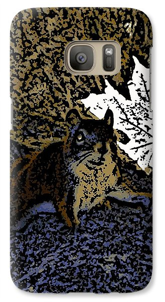 Galaxy Case featuring the photograph Squirrel by Jason Lees