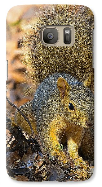 Galaxy Case featuring the photograph Squirrel by John Johnson
