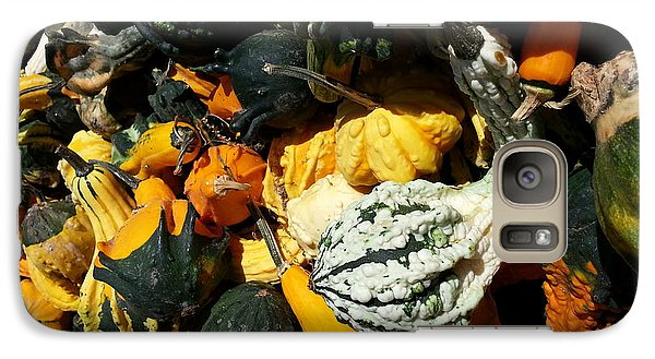 Galaxy Case featuring the photograph Squish Squash by Caryl J Bohn