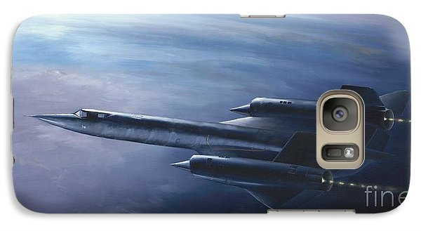Galaxy Case featuring the painting Sr-71 by Stephen Roberson