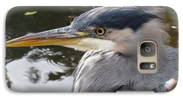 Galaxy Case featuring the photograph Sr Heron  by Cheryl Hoyle