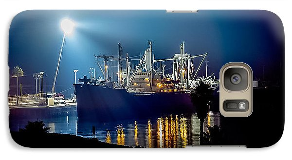 Galaxy Case featuring the photograph Ss Lane Victory Movie Shoot by Gregory Daley  PPSA