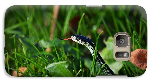 Galaxy Case featuring the photograph Sssso Nice To Ssssee You by Gayle Swigart