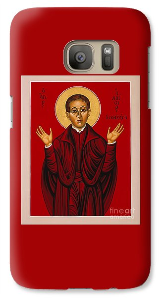 St. Aloysius In The Fire Of Prayer 020 Galaxy S7 Case