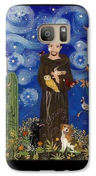 St. Francis Starry Night Galaxy S7 Case