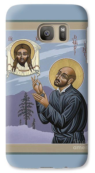 Galaxy Case featuring the painting St. Ignatius Amidst Alaska 141 by William Hart McNichols