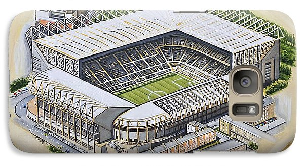 Magpies Galaxy S7 Case - St  James Park - Newcastle United by D J Rogers